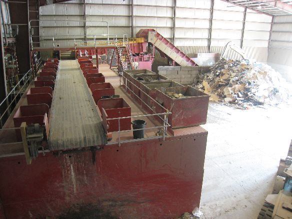 33Feed conveyor and sorting line