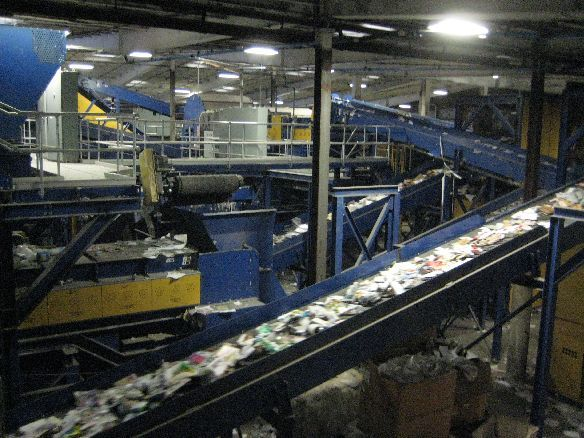 33Sorting equipment for plastics, metal, glass and fiber