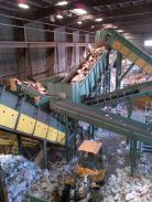 INSTALLATION OF A NEW GENERATION OF DRY COMMERCIAL WASTE SORTING LINE